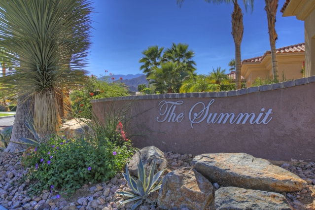 The Summit Entrance Palm Desert California