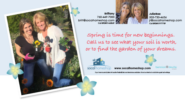 Socalhomeshop real estate spring mailer