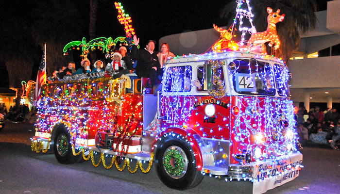 Palm Springs Festival of Lights Parade Downtown Palm Springs