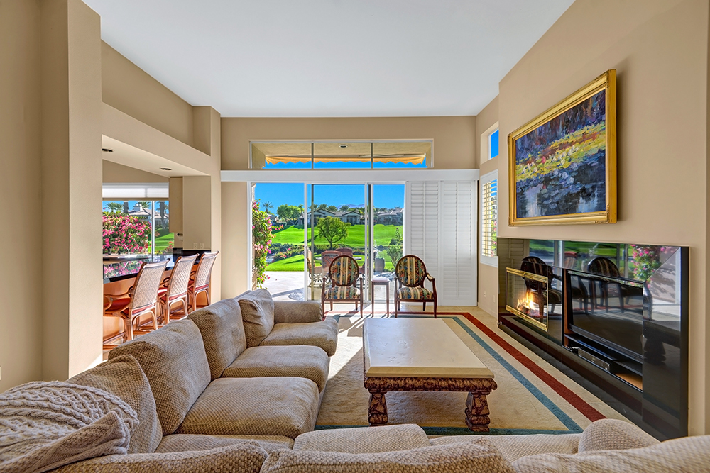 Living Room_507 Falcon View Circle, Palm Desert