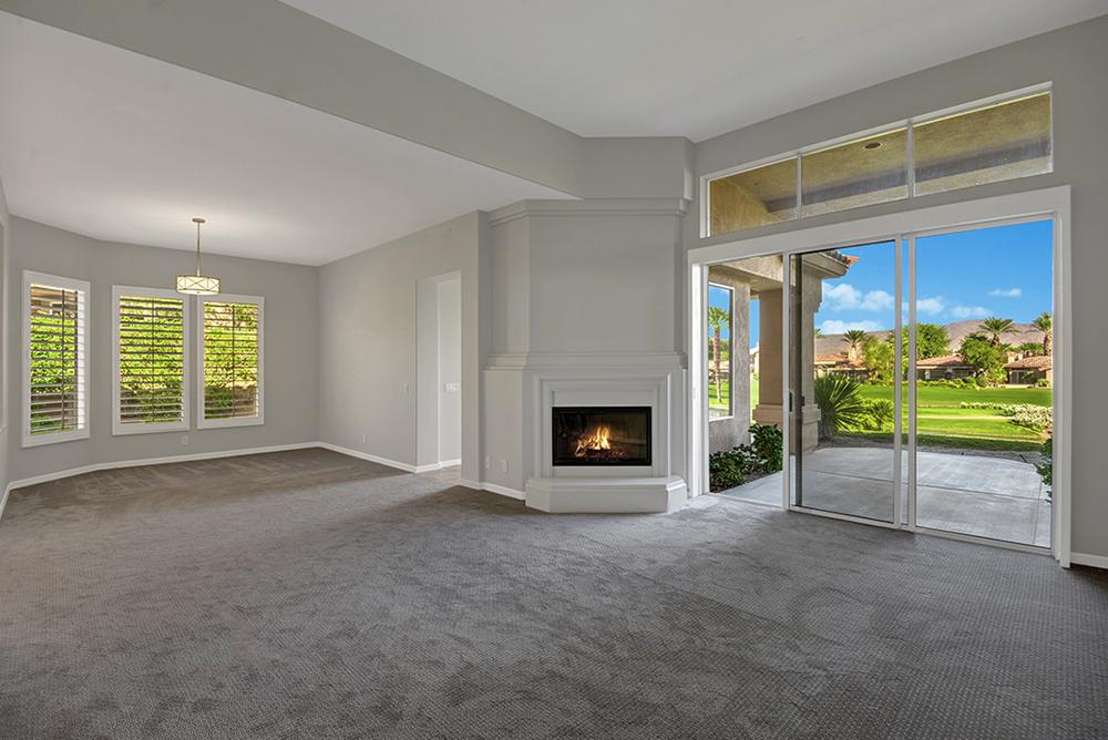 Living Room/Fireplace_508 Desert Holly, Indian Ridge CC