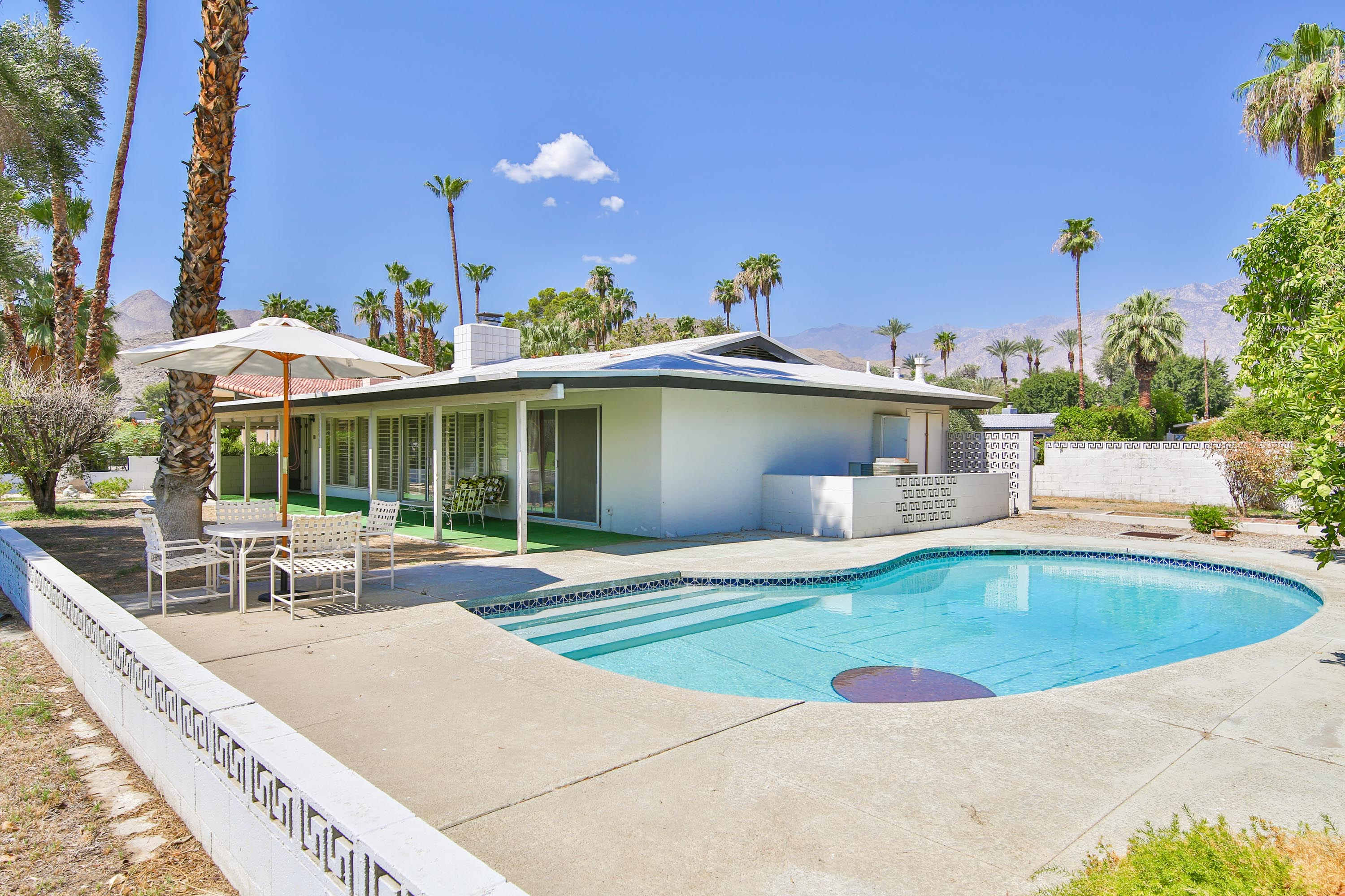 Palm Spring Pool Home