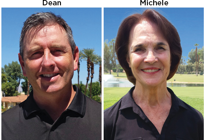 Monterey Country Club Sales Team-Dean and Michele