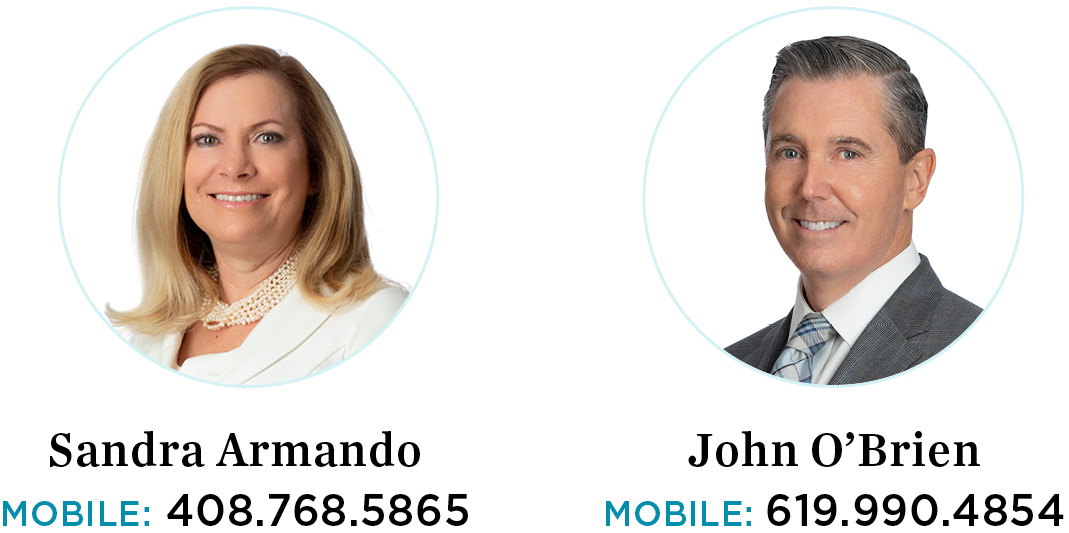 Sandy Armando and John O`Brien, Eldorado Properties REALTORS